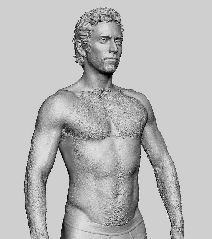 3D Body Scans soon to be released | Infinite-Realities