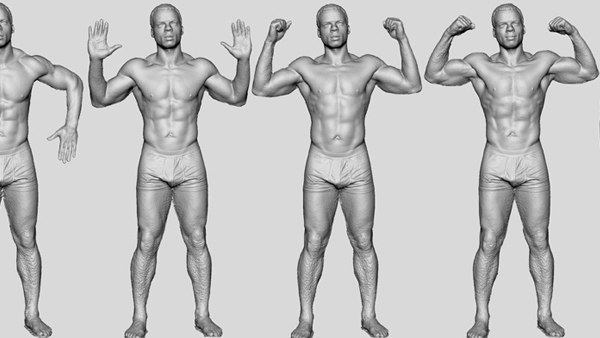 3D Body Scans soon to be released